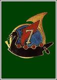 insigne du 7e régiment de Chasseurs 7ch